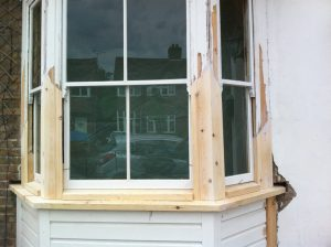listed building sash window repair London