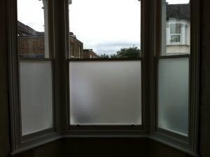 Existing Original Frame Has Had Double Glazed Sash Windows Ed With Lower Internal Pane Frosted For Extra Privacy
