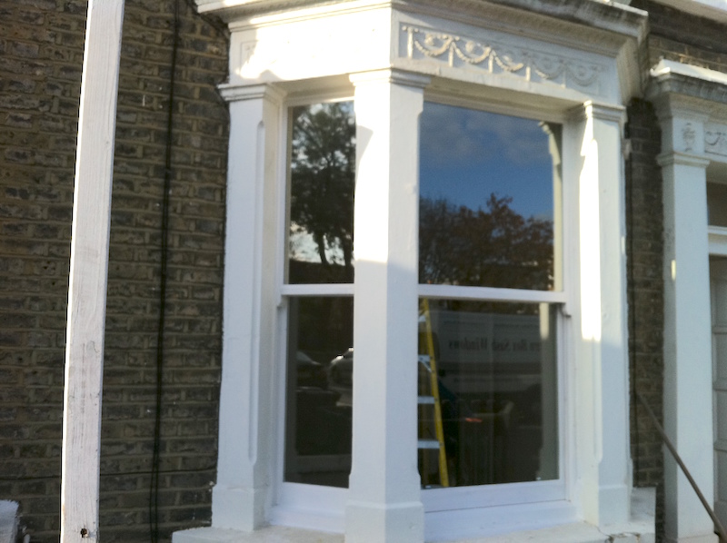 Double glaze existing sash window London