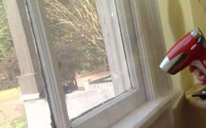 plastic sheet secondary glazing