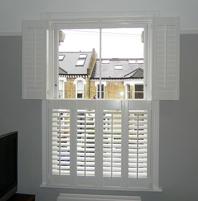 Shutter to improve insulation