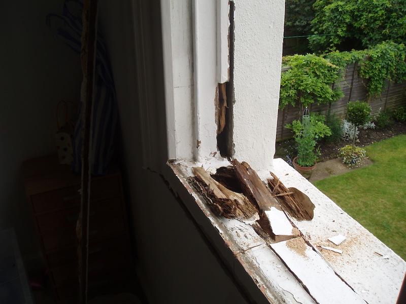 Wooden Sash Window Repair