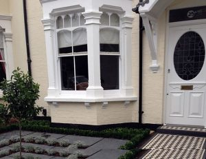 wooden sash windows