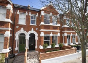 Wooden sash windows fronted property in London