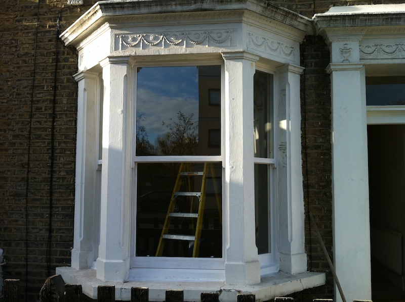 Double glazing existing sash windows West Norwood