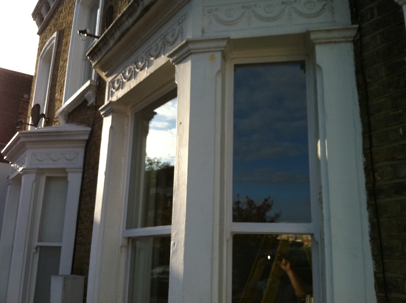Double glazing existing sash windows in West Norwood