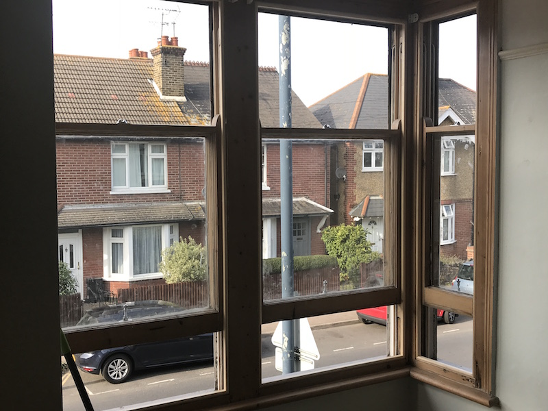 Sash windows draught proofed and refurbished Crouch End and Holloway