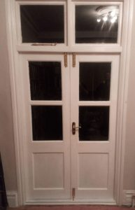French Doors Repaired and Fully Rebuilt With Draught Proofing
