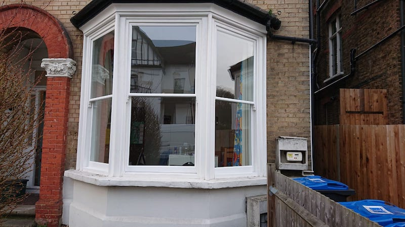 Double glazed bay sash windows case study