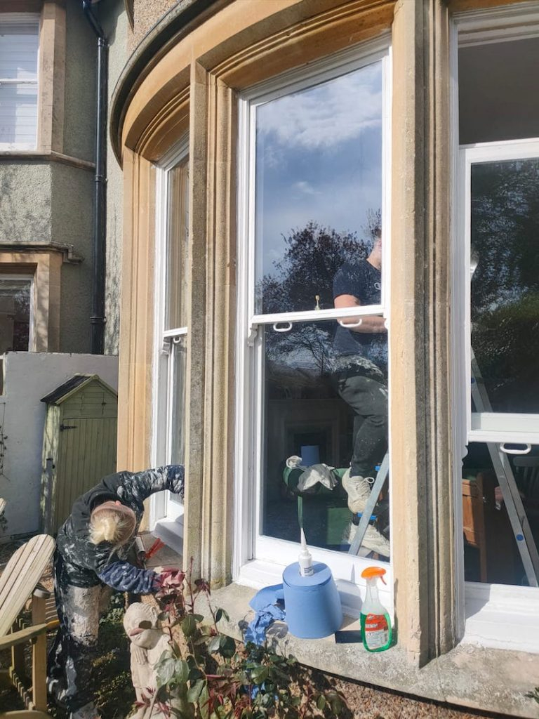 Retrofitting double glazing into the original existing sash windows that are 35mm wide